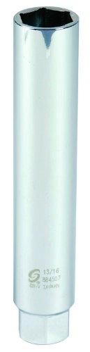 Sunex 884507 3/8-Inch Drive 13/16-Inch Extra Deep Spark Plug Socket by Sunex Tools