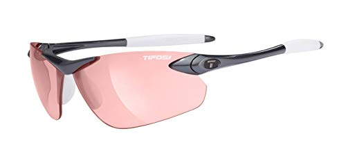 Tifosi Seek FC 0190300330 Wrap Sunglasses,Gunmetal Frame/High Speed Red Lens,One Size from Tifosi
