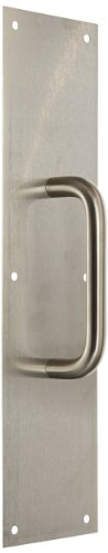 (Rockwood 102 X 70C.32D Stainless Steel Pull Plate, 16