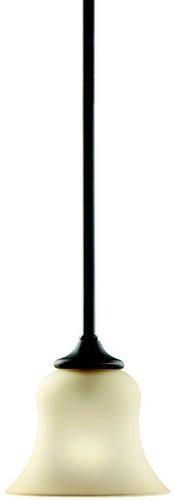 Kichler 10743OZ Wedgeport Mini Pendant 1-Light Fluorescent, Olde -