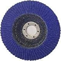 "10pcs"" 125mm flap disc zirconia x 10 (GRIT: 120)"
