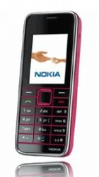 Nokia 3500 Unlocked Cell Phone with 2 MP Camera, Bluetooth Music, MP3 Player, MicroSD Slot--International Version with No Warranty (Pink)