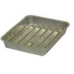 Small Broiler Pans (3) Packs of 12 Disposible 8.75