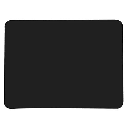 Allscarf007 Black Silicone Student Table Mat, Food Grade Nonstick Heat Resistant Nonskid Pad, Countertop Protector, Large Baking Oven Counter Children Table Mat, 15.7