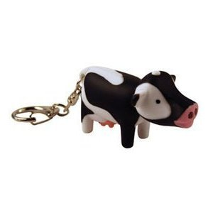 (Cow Key Chain and LED)