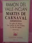 Martes de Carnaval, Ramón del Valle-Inclán, 8423913376