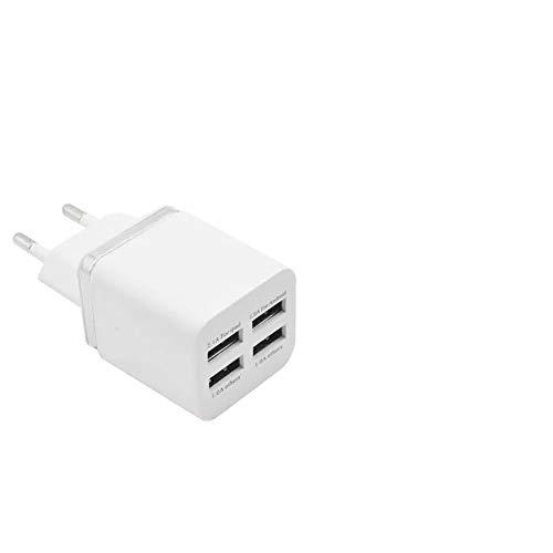 Cargador de pared con 4 puertos USB, 5 V/7,2 A, con ...