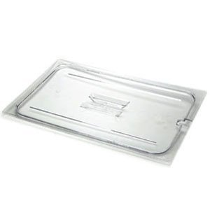 - Cambro 10CWCH-135 Notched Cover -for Full Size Food Pans-Clear
