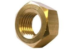 (1500pcs) #4-40 Hex Machine Screw Nuts Brass, Ships FREE in USA by Aspen Fasteners