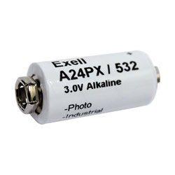 Replacement For A24PX 3V ALKALINE BATTERY V24P EXELL A24PX 3V ALKALINE BATTERY V24PX RPX24 532 PX24 EPX24 2LR50 Battery by Technical Precision