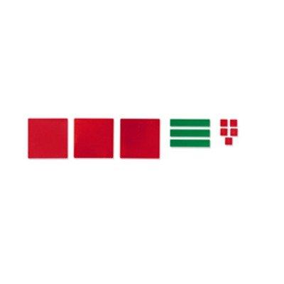 SCBLER7540-12 - ALGEBRA TILES STUDENT SET 32/PK pack of 12 - Algebra Tiles Student Set