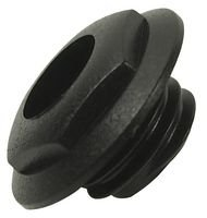 NUT, EXTERNAL THREAD, BLACK, 10 PACK CL14218 By CLIFF ELECTRONIC COMPONENTS BPSCN19864-CL14218
