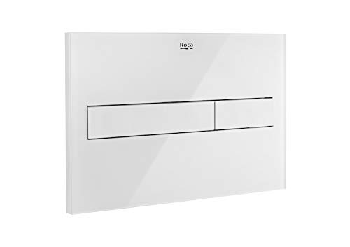 White Glass Driving Plate by Roca (Image #1)