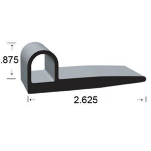 .875 X 2.625 ''P'' Epdm by Clean Seal
