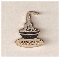GLEN GRANT SCOTCH MALT WHISKY LAPEL PIN / PIN BADGE (GLENCAIRN)