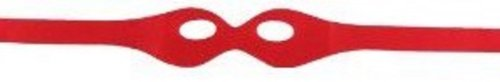 [Superhero Costume Felt Eye Masks Assorted Colors (Red)] (Red Eye Mask)