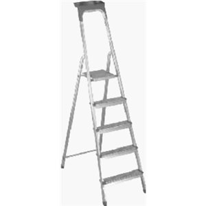 Leifheit 73092 74 Quot 5 Step Aluminum Ladder Amazon Com