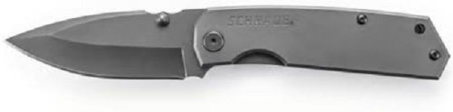 Schrade SCH303MS Mini Frame Lock Partially Serrated Folding Knife
