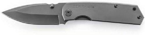 (Schrade SCH303MS Mini Frame Lock Partially Serrated Folding Knife)