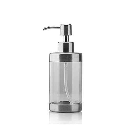 Zuinig TOPTOP SOAP DISPENSERS Roestvrijstalen pomp helder glas hand zeepfles, aanrecht zeepdispenser, geschikt voor…