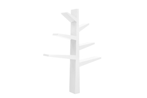 babyletto Spruce Tree Bookcase, White