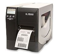 "Zebra ZM400-2001-0000T Model ZM400 Thermal Transfer Barcode Printer; 203 dpi/8 dots Resolution, 4.09""/104 mm Print Width, USB, Parallel and Serial Interfaces; Includes US Power Cord"