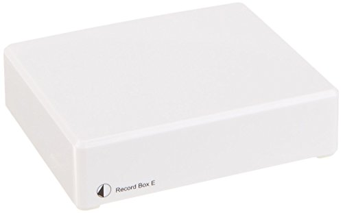Pro-Ject Record Box E USB Phonograph Preamplifier (White) by Pro-Ject