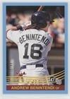 #3: Andrew Benintendi #/49 (Baseball Card) 2018 Panini Donruss - [Base] - Father's Day Ribbon #227.2