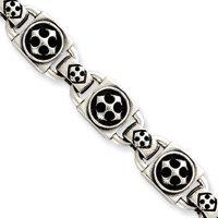 Bracelet en argent Sterling 8 pouces-JewelryWeb dissimulée capture