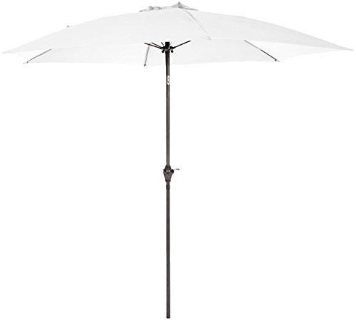 AmazonBasics JC011, White Patio Umbrella-9-Foot