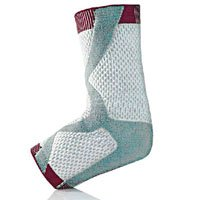 PROLITE 3D Left Ankle Support Braces, White/Gray, XX-Large