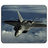 F-22 Jet Aircraft Raptor Plane Air Force Cool Computer Mouse Pad