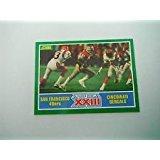 Joe Montana / Jerry Rice - 1989 Score #275 - San Francisco 49ers / Bengals (Super Bowl XXIII)