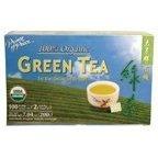 Prince Of Peace Organic Green Tea - 100 bags per pack - 6 packs per case.