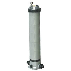 Dayton 4VMN8 Pool/Spa Filter, Cartridge, 45 7/8 Hi