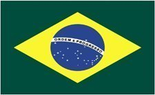 3x5' Brazil Nylon Flag - All Weather, Durable, Outdoor Nylon
