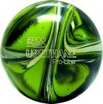 EPCO-Duckpin-Bowling-Ball-Urethane-Pro-Line-Lime-Green-White-Navy-Single-Ball