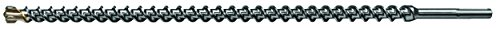 Century Drill and Tool 83718 SDS Max Masonry Drill Bit, 1-1/