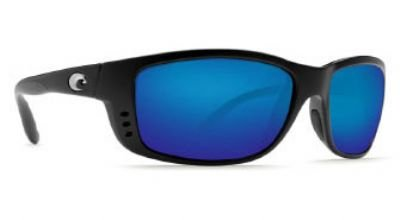 Costa Del Mar Zane Polarized Sunglasses, Black, Blue Mirror, Outdoor Stuffs