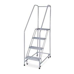 UPC 094703413236, Rolling Ladder, Assembled, Handrail, Platform 40 In H