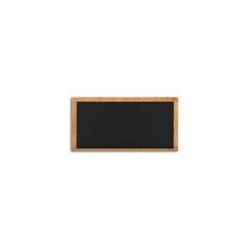 Composition Wall Mounted Chalkboard Color: Black, Size: 1.5' x ()