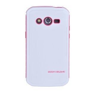 Body Glove Fusion Pro Case for Samsung Galaxy Avant - White and Pink (Body Glove Suit Up Phone Cases)