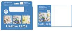 Strathmore 105-220 50-Pack Cards & Envelopes Palmbeach White & Plain Edge from Strathmore