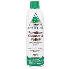 (3 Pack Value Bundle) AMRA13320 Aspire Furniture Cleaner & Polish, Lemon Scent, 16 oz. Aerosol Can