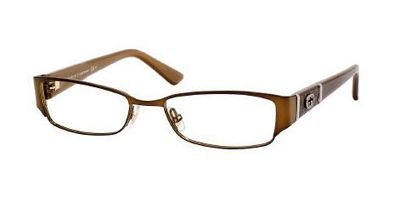 Gucci GG2910 Eyeglasses - 0MI2 Brown - 52mm by Gucci