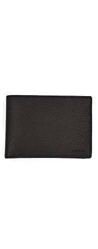 Men's Gucci Pebbled Leather Bi-fold Classic Wallet