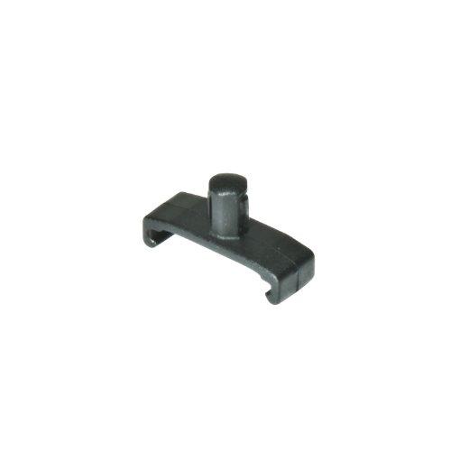 Ernst Manufacturing 1/4-Inch Dura-Pro Twist Lock Socket Clips, 15-Pack, Black ()