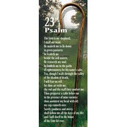 The 23rd Psalm Bookmark (Package of 25) (Staff Bookmark)