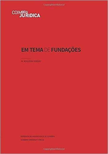 Em Tema de Fundações