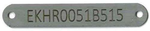 (Custom HIN (Hull Identification Number) Tag - Stainless Steel Boat I.D.)